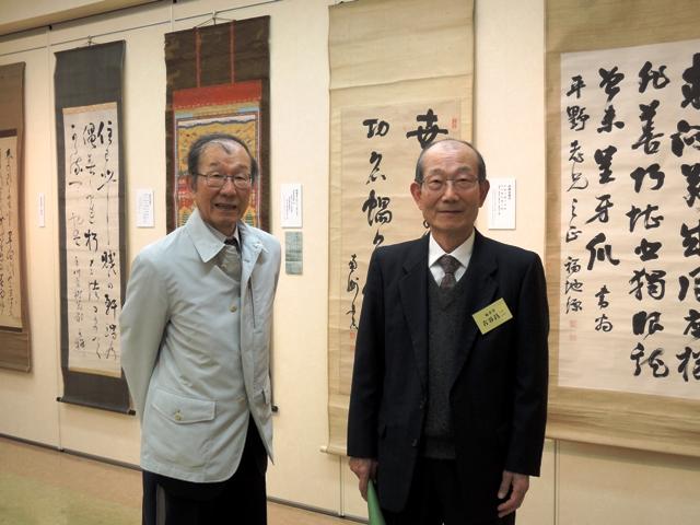『平野富二伝』著者・古谷昌二氏と実兄・古谷圭一氏