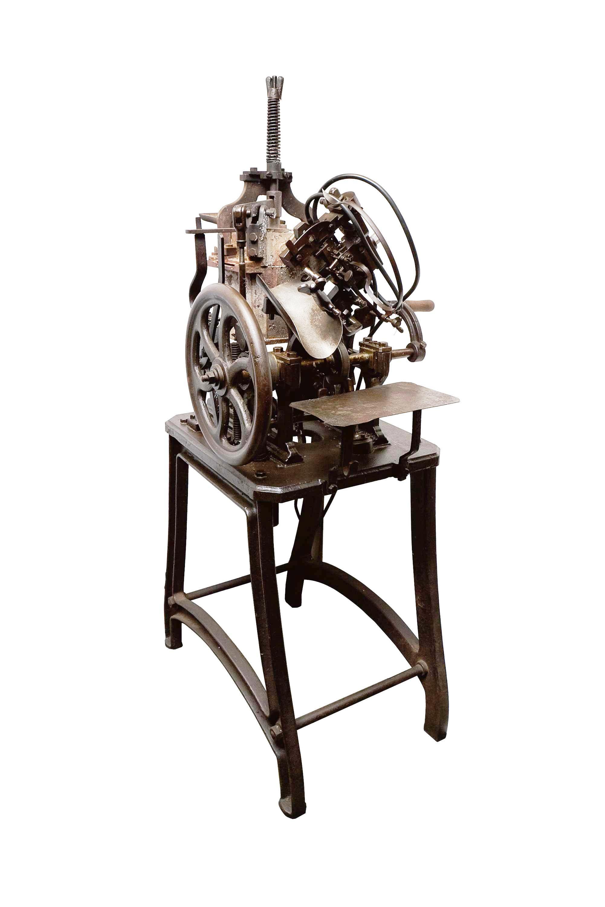 ブルース型活字鋳造機
