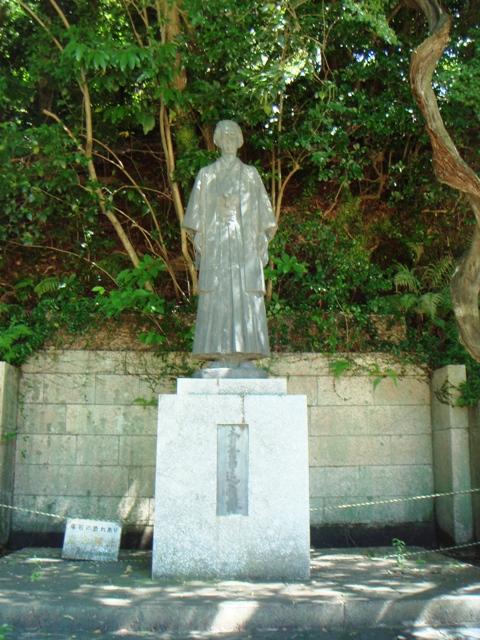 本木昌造銅像 長崎諏訪公園