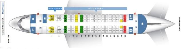 カタール航空座席配置