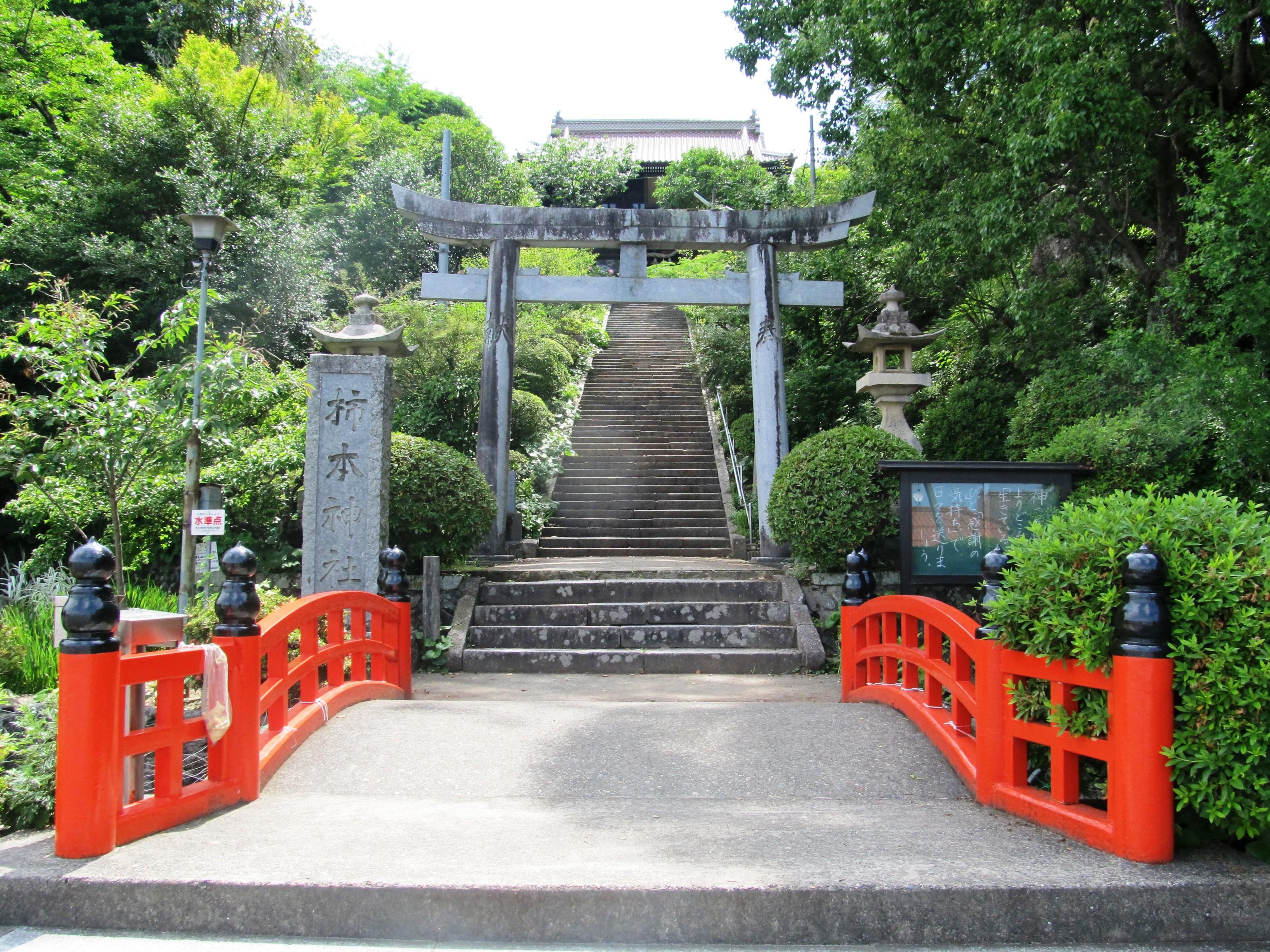 Takatsu_Kakinomoto_Jinja_Torii