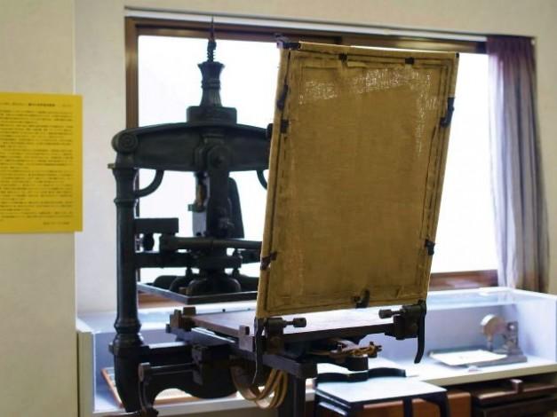 手引き印刷機のチンパン