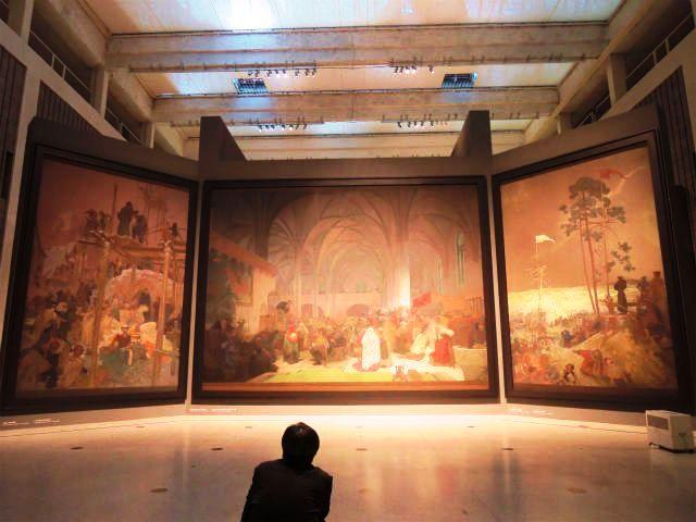 スラヴ叙事詩『クロムニェジージュのヤン・ミリチ』『ベツレヘム礼拝堂でのヤン・フスの説教』『クジージュキの集会』