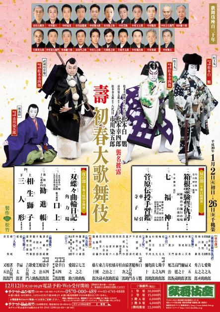 歌舞伎座一月