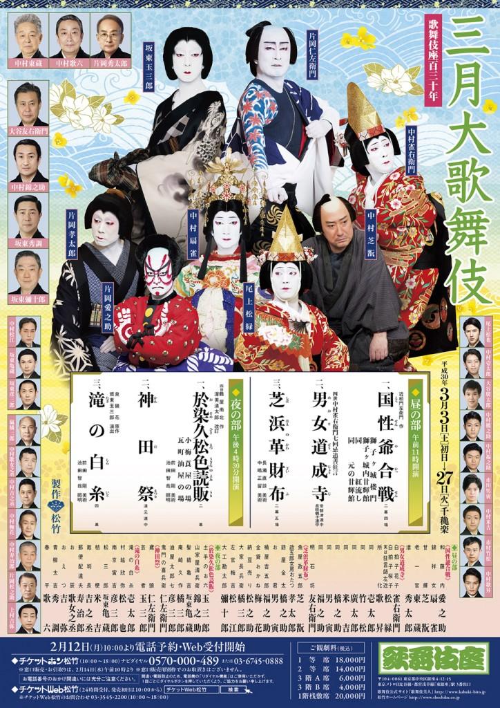 歌舞伎座三月公演