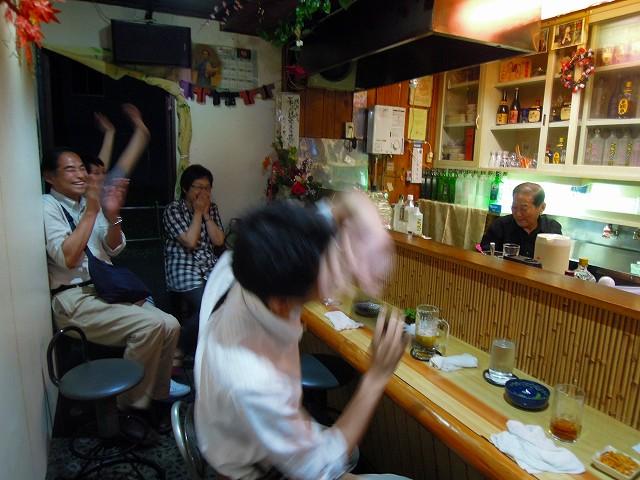 ようやく気づいたハカセ山崎も爆笑。