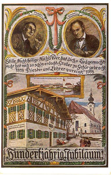 ウィキペディア Stille_Nacht_Jubilaeumskarte