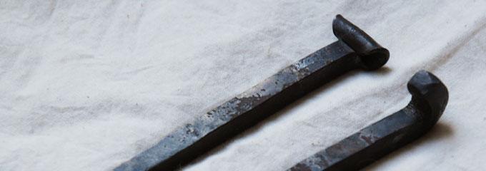 燕市産業史料館 野鍛冶・和釘