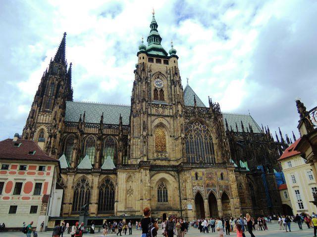 プラハ城 聖ヴィート大聖堂 外観