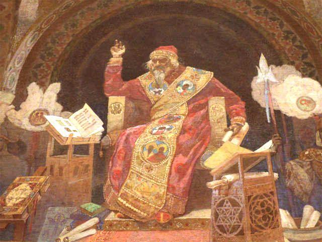 スラヴ叙事詩『ブルガリアのシメオン皇帝―スラヴ語文学の暁の明星ー』よりシメオン皇帝