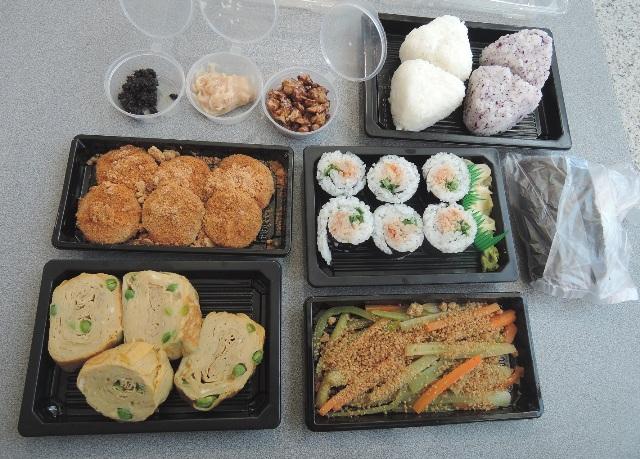 宣子さんの手作りお弁当