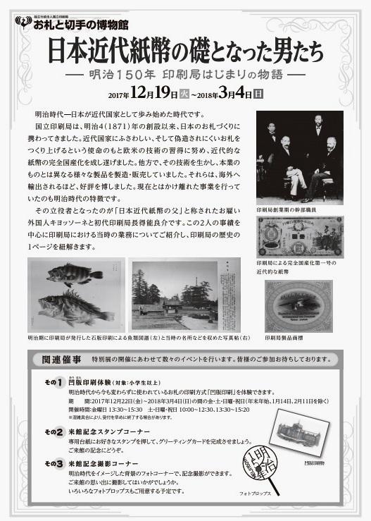 お札と切手の博物館ウラ