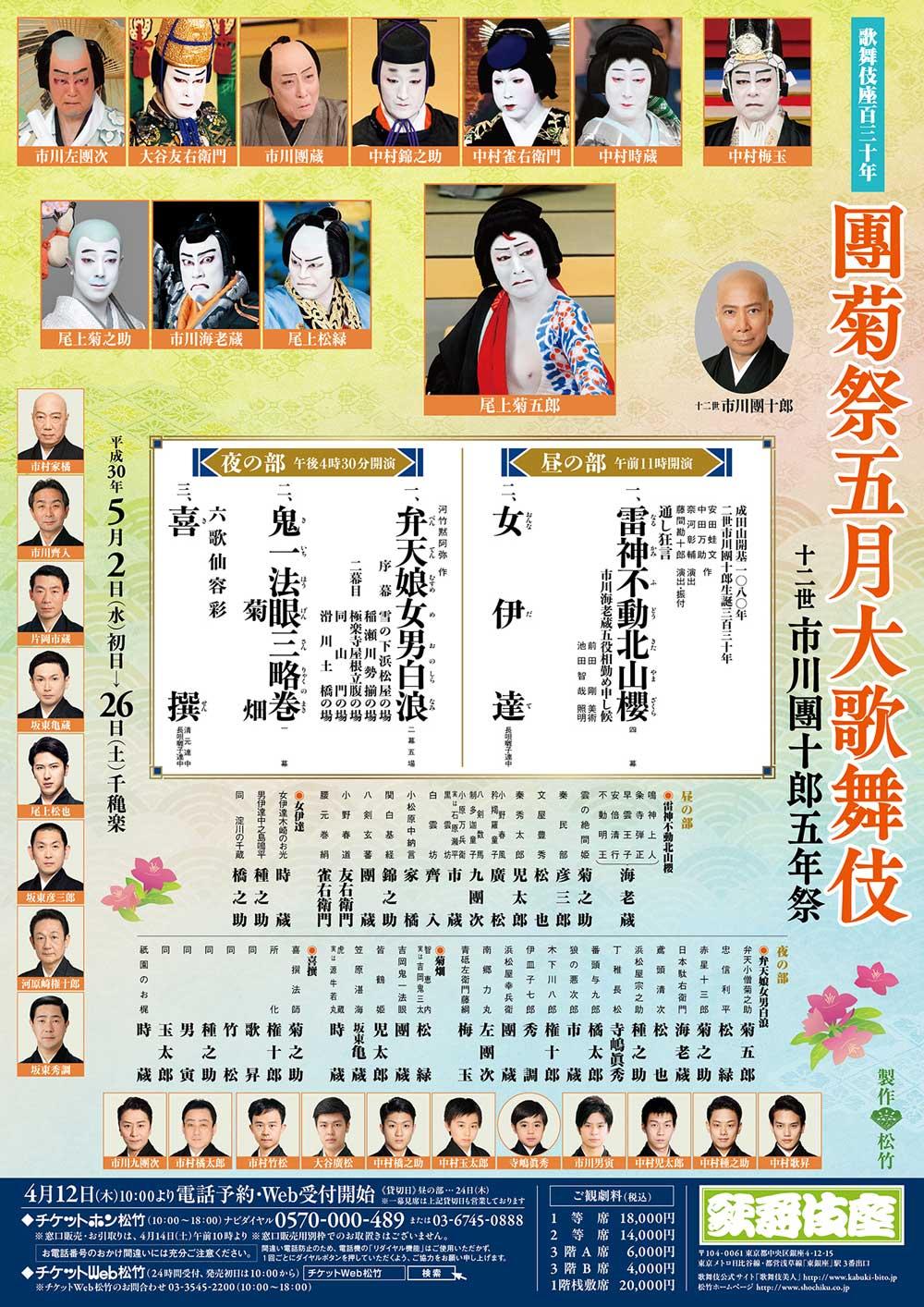 歌舞伎座五月