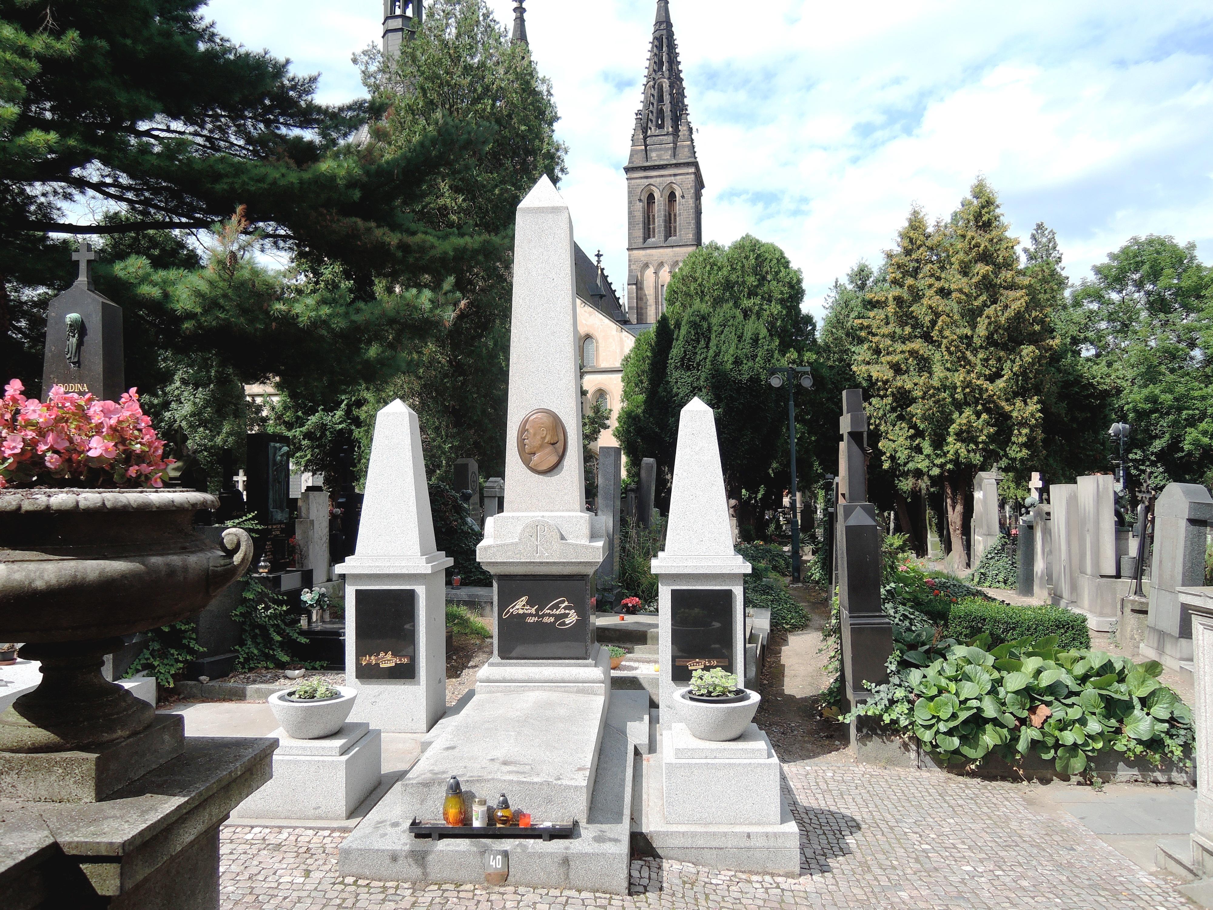 スメタナのお墓
