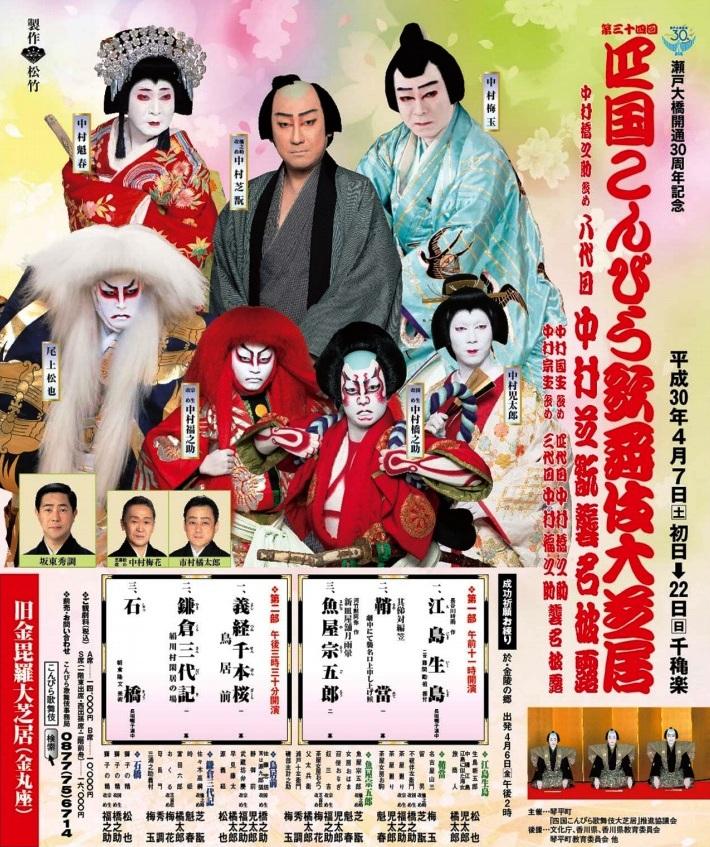 四国こんぴら歌舞伎