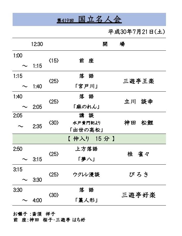 kokuritu演芸場
