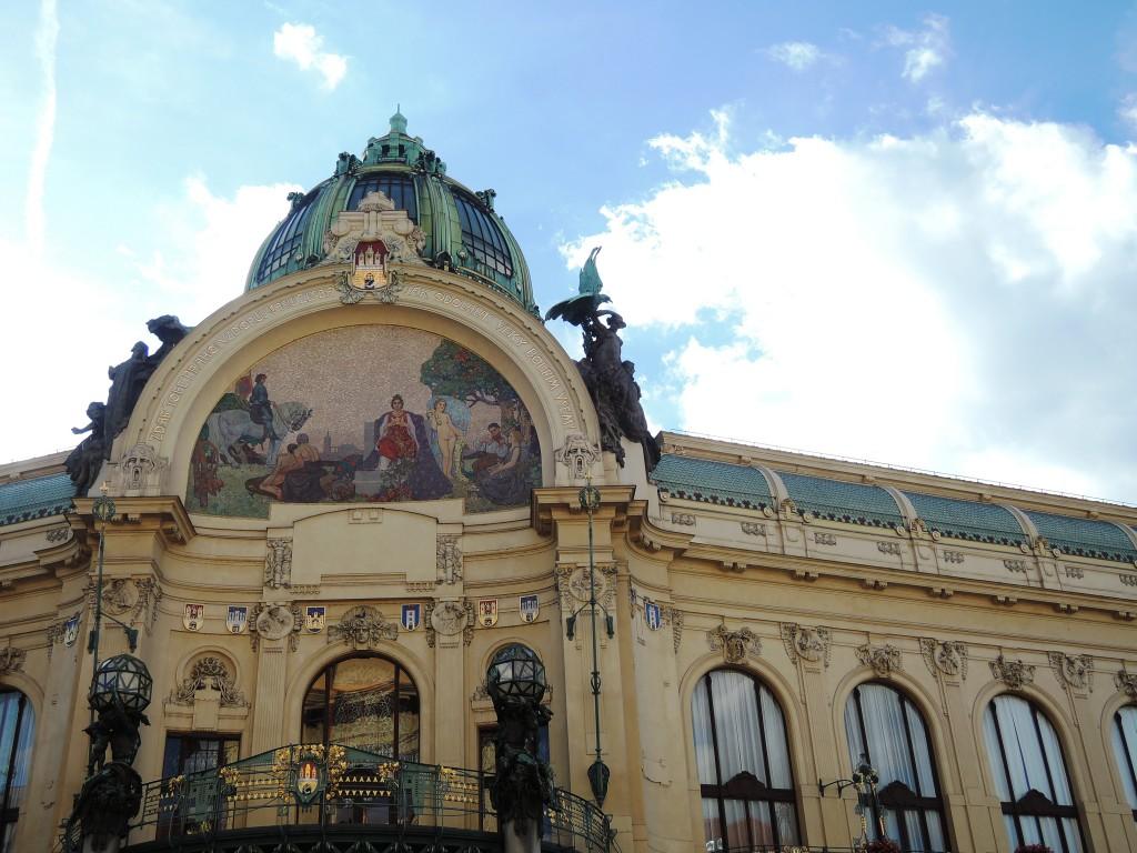 スメタナホールがあるプラハ市民会館