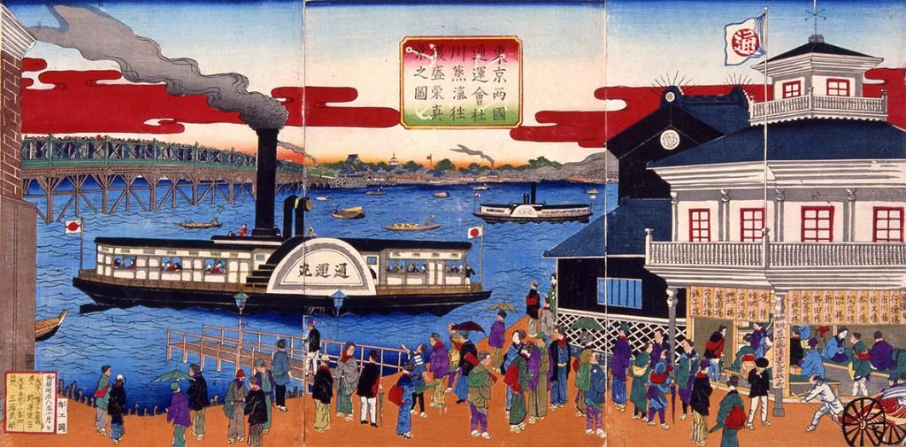 web用_200097 300dpi 東京両国通運会社川蒸気往復盛栄真景之図 野沢定吉画-1 軽量化